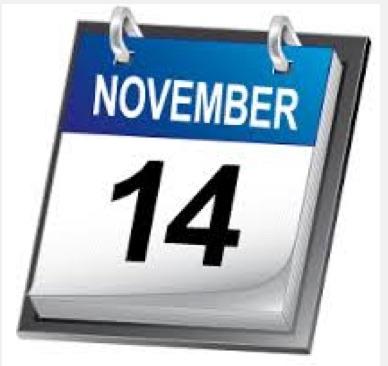 nov 14 calendar
